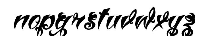 VtcTattooScriptThree Font LOWERCASE