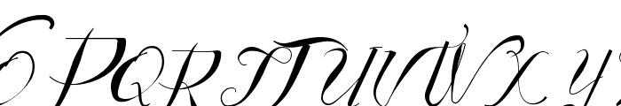 Vtks Authentic Font UPPERCASE