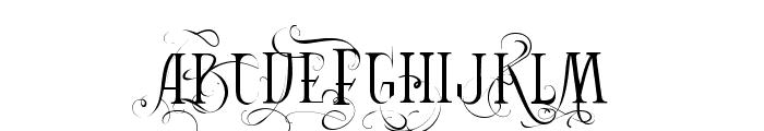 Vtks Bandoleones Font UPPERCASE