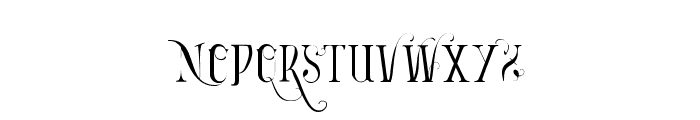 Vtks Bandoleones Font LOWERCASE