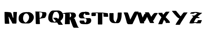 Vtks Basicona Font UPPERCASE