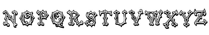 Vtks Black Label Font UPPERCASE
