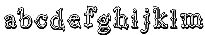 Vtks Black Label Font LOWERCASE