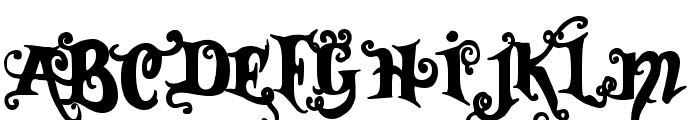 Vtks Black Font UPPERCASE