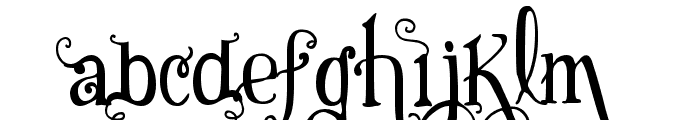 Vtks Black Font LOWERCASE