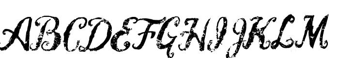 Vtks Blank Font UPPERCASE