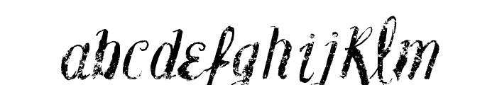 Vtks Blank Font LOWERCASE