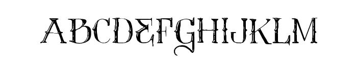 Vtks Contrast Font UPPERCASE