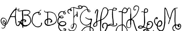 Vtks Friaka Font UPPERCASE