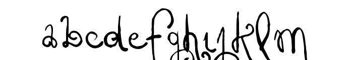 Vtks Friaka Font LOWERCASE