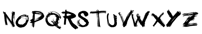 Vtks GranModa Font UPPERCASE