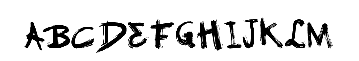 Vtks GranModa Font LOWERCASE