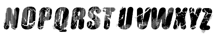 Vtks Hardness Font UPPERCASE