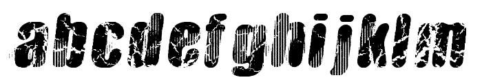 Vtks Hardness Font LOWERCASE