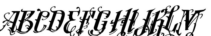 Vtks Lovers Italic Font UPPERCASE
