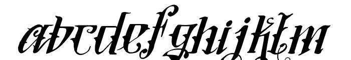 Vtks Lovers Italic Font LOWERCASE