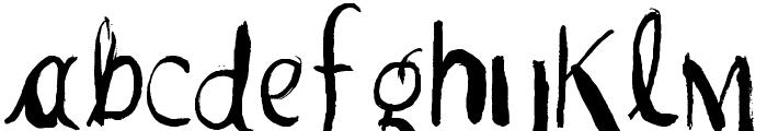 Vtks Pedra Bruta Font LOWERCASE