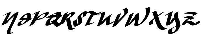Vtks The Dark Regular Font UPPERCASE