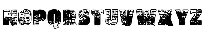 Vtks Ultramein Font UPPERCASE