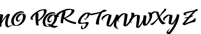 VtksColored Soul 3 Font UPPERCASE