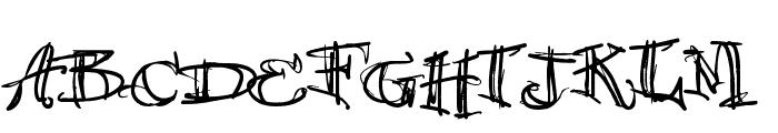 vtks 38 Font UPPERCASE