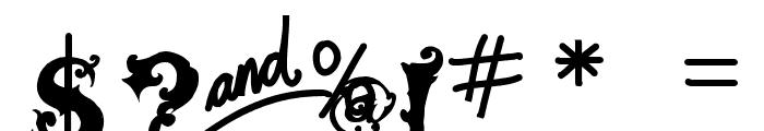vtks alcalina Font OTHER CHARS