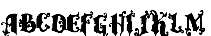 vtks alcalina Font UPPERCASE