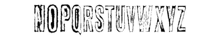 vtks carrier Font UPPERCASE