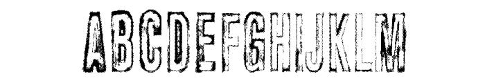 vtks carrier Font LOWERCASE