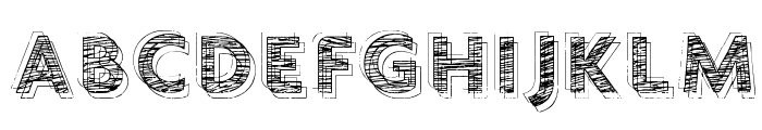 vtks chalk 79 Font UPPERCASE
