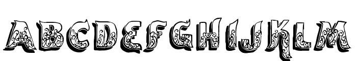 vtks encantar Font LOWERCASE