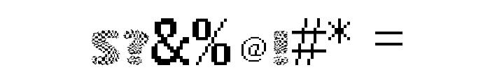 vtks squares Font OTHER CHARS