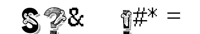 vtks trutagem Font OTHER CHARS