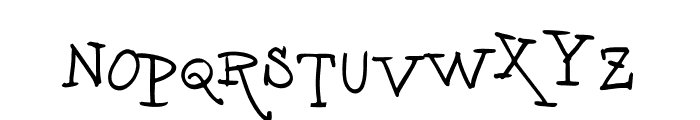 vtks unamour Font LOWERCASE