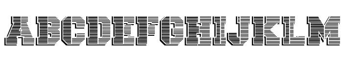 vtks university Font LOWERCASE