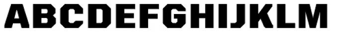 VTF Charisma Black Font UPPERCASE