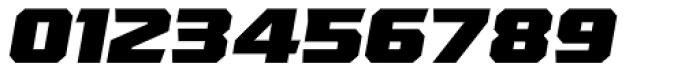 VTF League Black Oblique Font OTHER CHARS