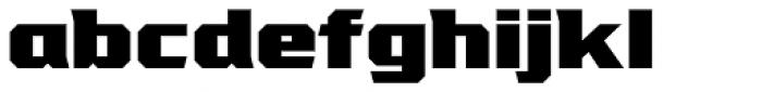 VTF League Black Font LOWERCASE
