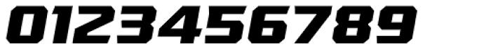 VTF League ExtraBold Oblique Font OTHER CHARS