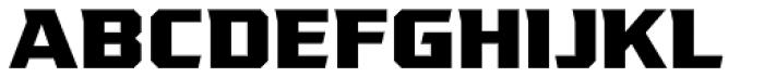 VTF League ExtraBold Font UPPERCASE