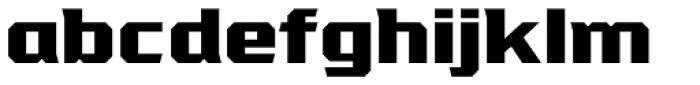 VTF League ExtraBold Font LOWERCASE