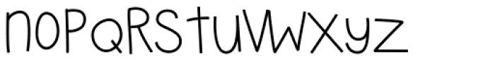 VTG Pennyloafer Round Font UPPERCASE