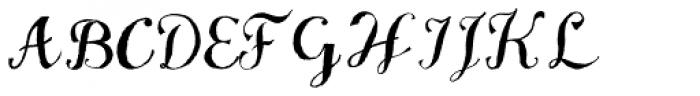 VTGWatson Steel Pen Font UPPERCASE