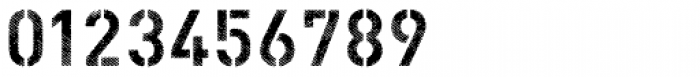 Vtg Stencil DIN Fabric Font OTHER CHARS