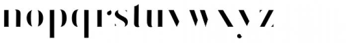 Vtg Stencil Germany No1 Inlay Font LOWERCASE