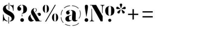 Vtg Stencil Germany No1 Font OTHER CHARS