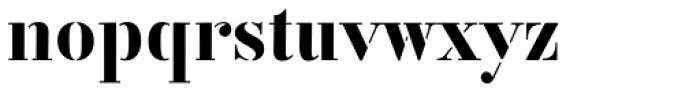 Vtg Stencil Germany No1 Font LOWERCASE