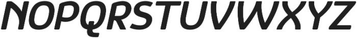 Vulgat Bold Italic otf (700) Font UPPERCASE