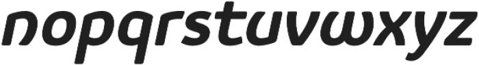 Vulgat Bold Italic otf (700) Font LOWERCASE