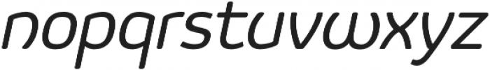 Vulgat Italic otf (400) Font LOWERCASE